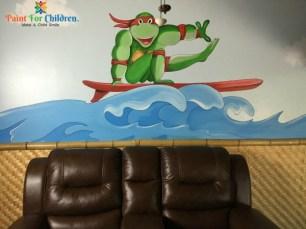 Ninja Mural