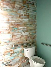 DIY Cedar Wall - Wood Plank Accent wall | Cheryl Phan