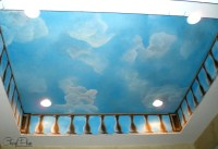 How Add Painted Clouds to Ceilings and Walls | Cheryl Phan