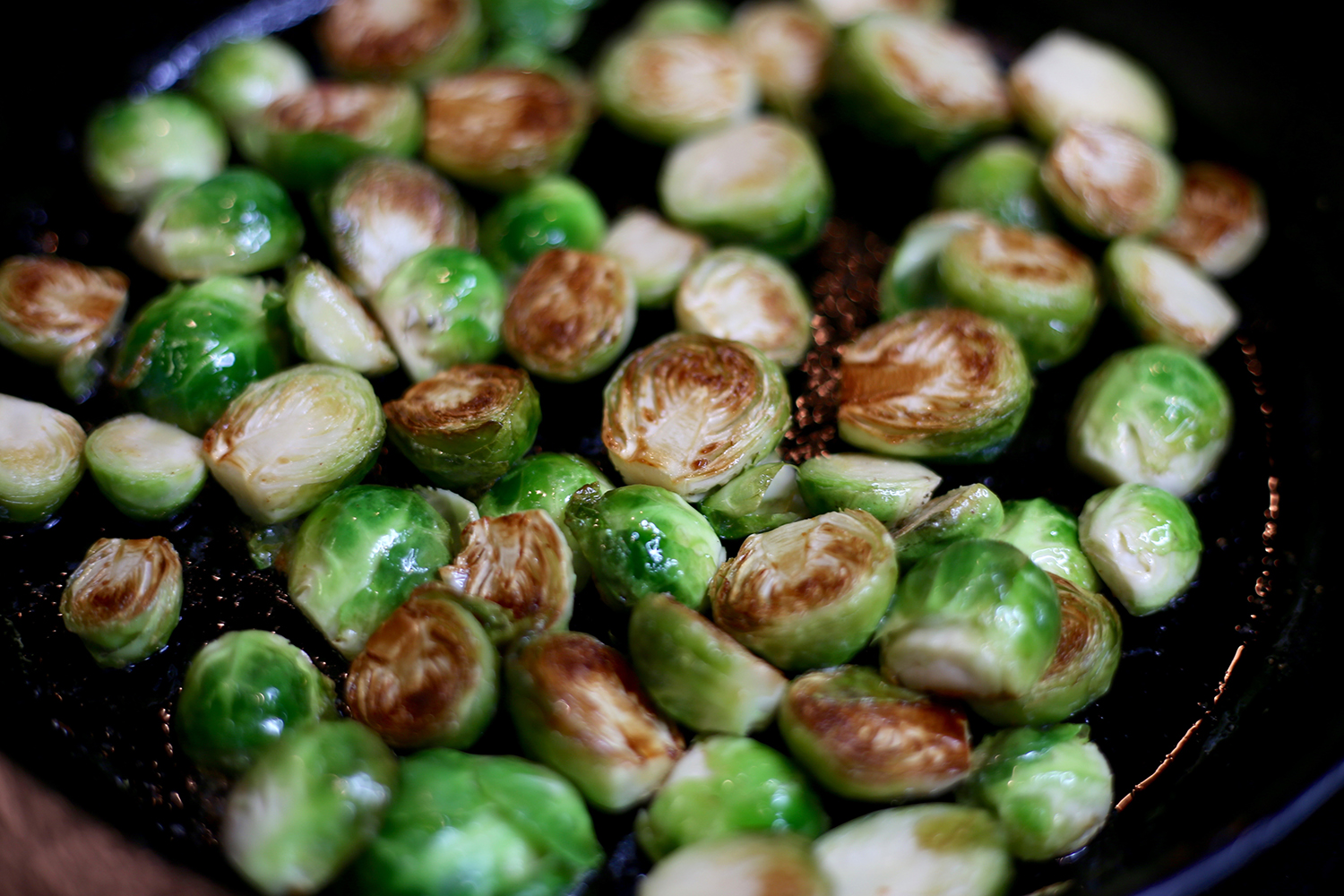 sprouts-in-butter-turned