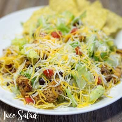 Super Simple Super Tasty Taco Salad