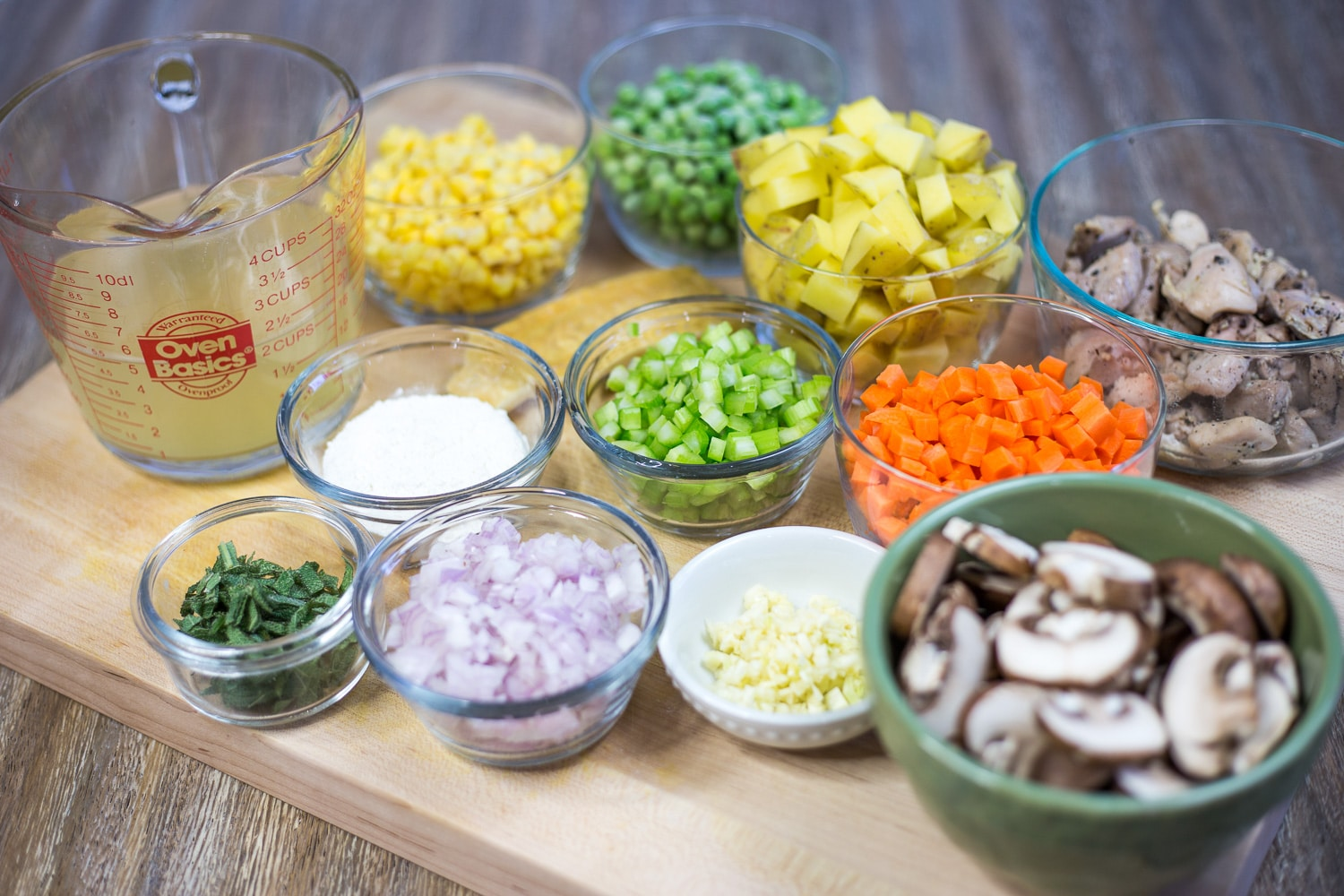 A good mise en place will make cooking much more enjoyable for you.  artzyfoodie.com 