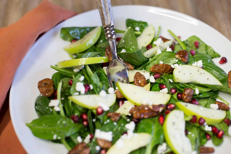 Thanksgiving Menu-Spinach Salad