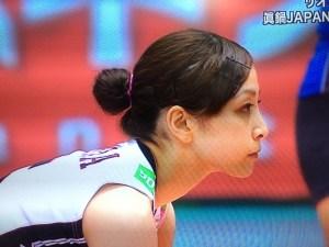 バレーの佐藤あり紗選手のかわいい画像5