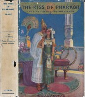 Dustjacket, book publ. in the 1920s
