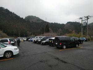 めがひらスキー場駐車場