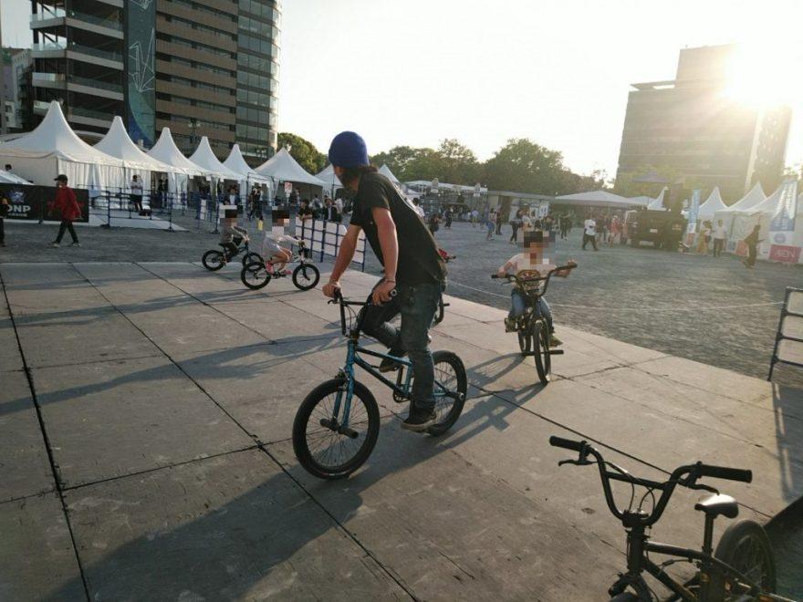 FISE自転車体験