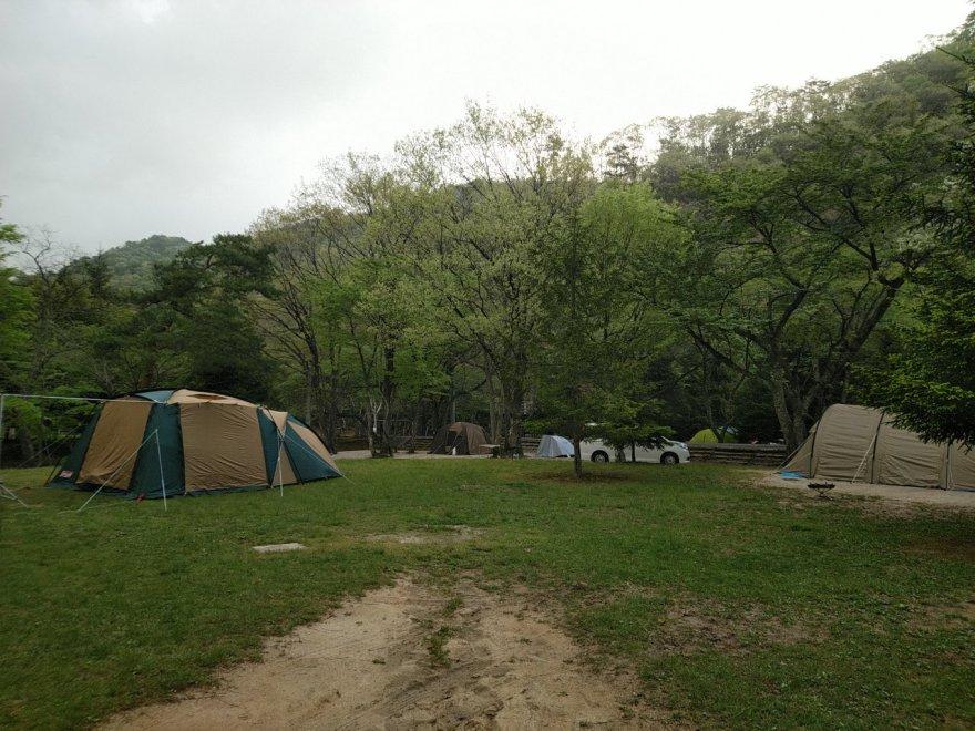 大鬼谷オートキャンプ場