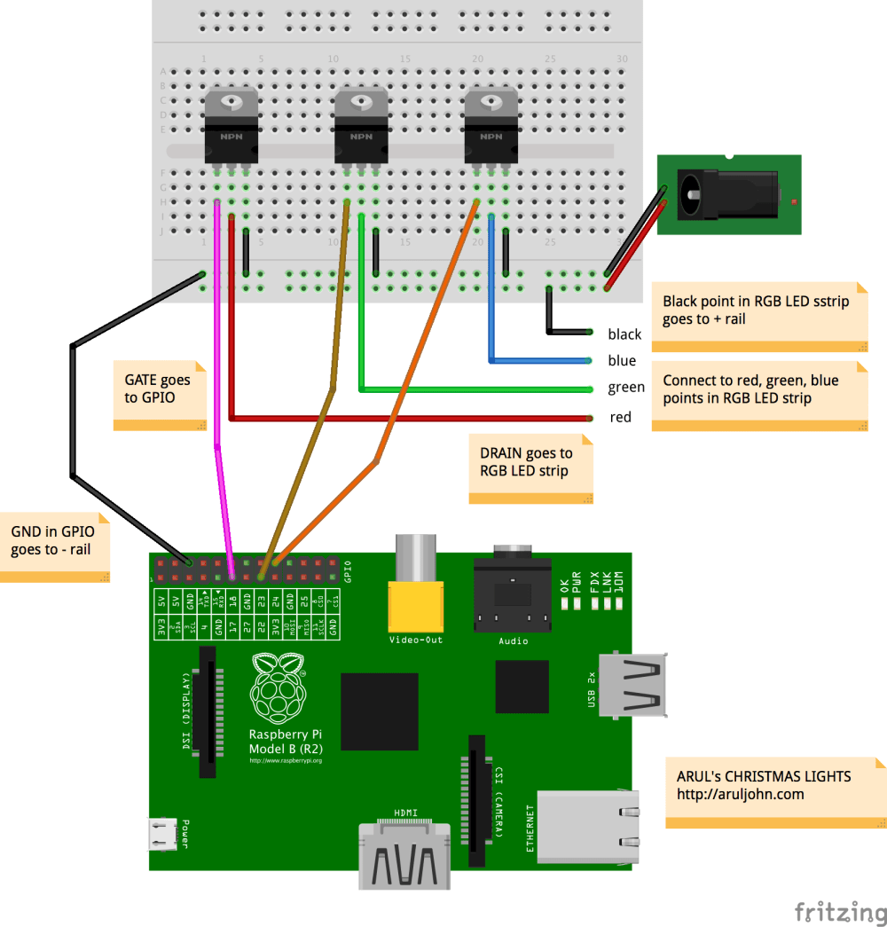 medium resolution of arul s raspberry pi christmas lights rgb led