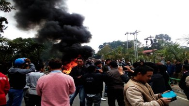 Photo of Arunachal- Tuki Supporters Protest against HC verdict and Governor