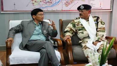Photo of Arunachal CM shows concern for Border area Connectivity