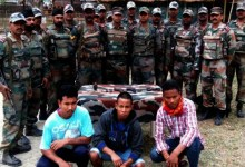Photo of Army Apprehended 3 NDFB( S ) Terrorist