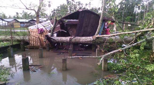 Cyclone Created Havoc in Jairampur