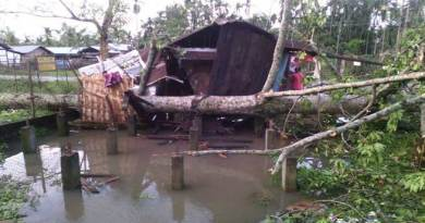 Cyclone Created Havoc in Jairampur