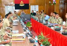 Photo of Director General BSF,  K K Sharma Visits Meghalaya Frontier