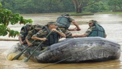 Photo of Gajraj Corps Carries Out Flood Mock Drill