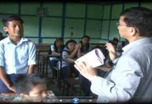 Photo of When Chief Minister Pul  took Class of Govt Middle School