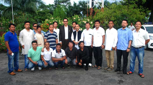 APYC & ABK Delegates Meet with Dy CM Chowna Mein