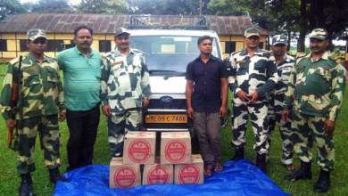 Photo of BSF Apprehended One Indian Liquor Smuggler