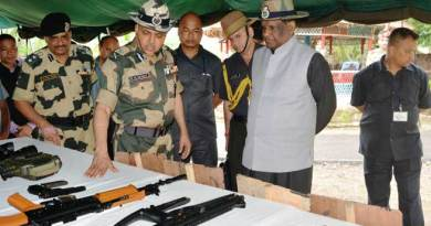 Meghalaya's Governor visits BSF'S Out Post Shella