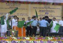 Photo of Prabhu Flagged Off  Agartala- New Delhi Tripura Sundri Express