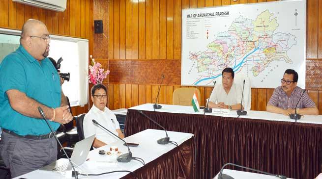 Arunachal- CM Pema Khandu emphasis on e-governance