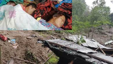 Land Slide in Siang l, Darjeeling Due to Torrential Rains