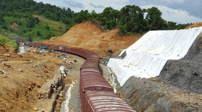 Railway Traffic on Lumding - Silchar Section Restored