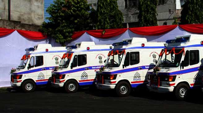 108 Mrityunjoy Emergency Service Saves 1,28,150 lives Till Now