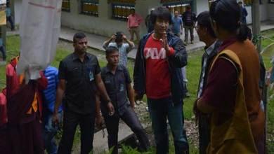 Photo of Jambey Tashi Visits Landslide-hit Zemithang