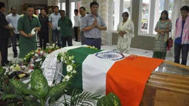 Photo of Cabinet Colleagues, MLAs, MP, Paid Last Respect To Late Kaliko Pul
