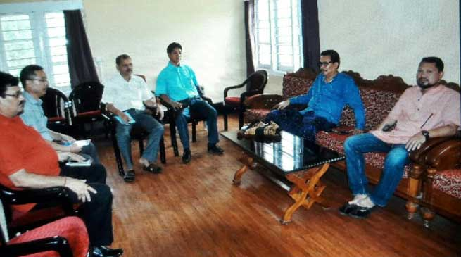 First DDCMC Meeting of Namsai District Held
