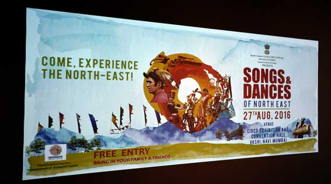 Arunachal to Host 2nd North East Festival 2016 at Mumbai