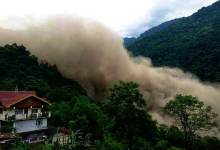 Massive Landslide in North Sikkim, Created Artificial Lake