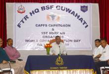 Guwahati- BSF Observes World Organ Donation Day