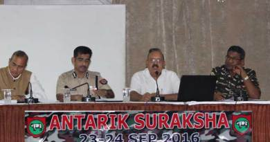 Antarik Suraksha- A Rear Area Security Exercise held at Narangi