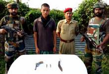 Army Apprehended Dy C in C of NSCA and NDFB (s) terrorists