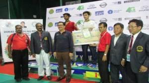 Dorjee Khandu All India Senior Ranking Badminton Tournament Concludes