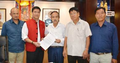 Itanaga- Khandu issued Directive For New Market in Pasighat