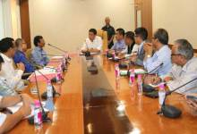 Photo of Khandu Sought Support from NEIGRIHMS for Establishment of Tomo Riba Institute of Medical Science in Arunachal