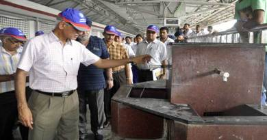 Massive Cleanliness Drive Begins in NF Railway