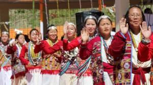 Khandu attends Silver Jubilee celebration of Chindang at Nafra