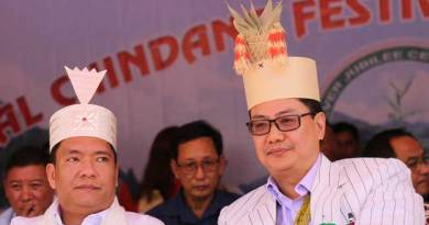 Khandu attends Silver Jubilee celebration of Chindang at Nafra