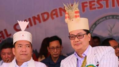 Photo of Khandu attends Silver Jubilee celebration of Chindang at Nafra