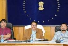 Dy CM reviewed Projects under RIDF
