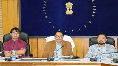 Photo of Dy CM reviewed Projects under RIDF