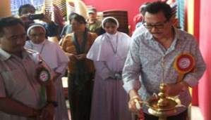 Dy CM Chowna Mein Inaugurates Krick and Bourry Memorial Hospital at Injan