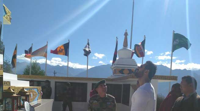John Abraham Ambassador Arunachal Tourism visits Tawang War Memorial