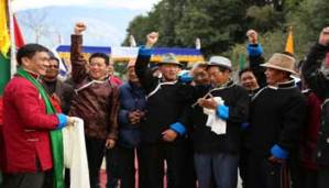 Unprecedented Reception of Pema Khandu in Tawang