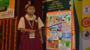 Nyohai Wangjen qualified for the National level Science Seminar 2016